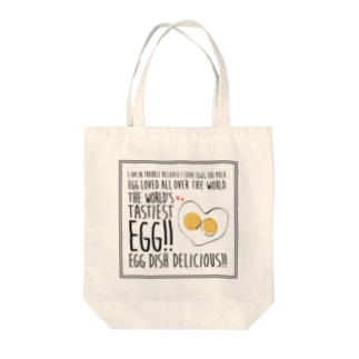 EGG BELIEVER Tote bags