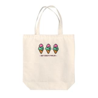 8bit♡アイスクリーム Tote bags