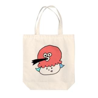 たこちゃん Tote bags