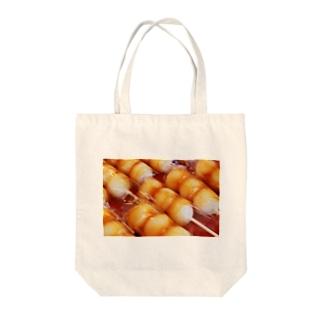 お団子と○○ Tote bags