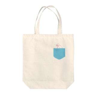 ぶんちょうポケット Tote bags
