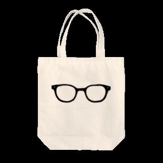 三重殺セカンドの店の僕のメガネ Tote bags