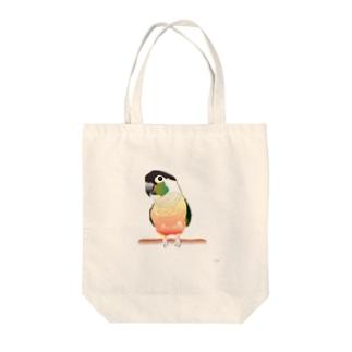 ウロコインコ Tote bags