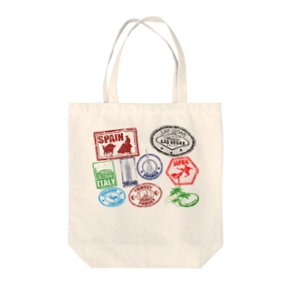世界の消印 Tote bags