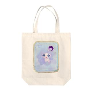 violet トートバッグ