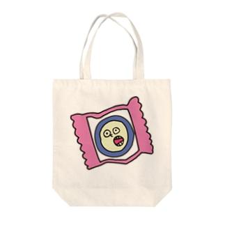 ヤバめなキャンディ Tote bags