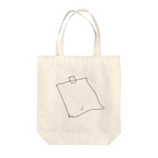 メモ用紙がないときに Tote bags