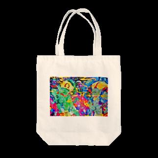 yonshirouの風神雷神 Tote bags