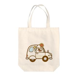 ハクマイさんの軽自動車 Tote bags