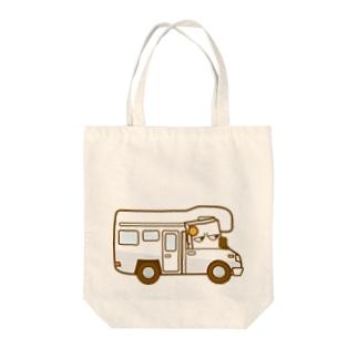 キリモチくんのキャンピングカー Tote bags
