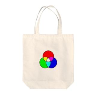 光の三原色 Tote bags