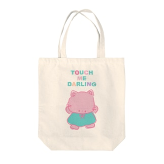 80sファンシーにゃんにゃん Tote bags