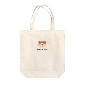 【トートバッグ】秋田犬~赤毛 Tote bags