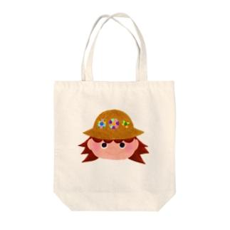 麦わら Tote bags