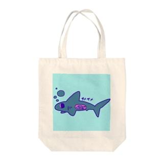 モーリーオリジナルサメくん Tote bags