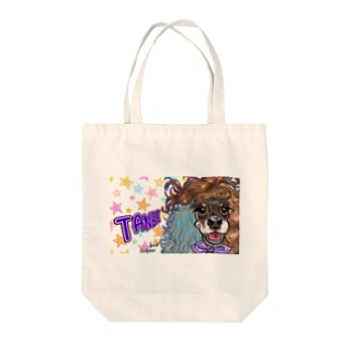 Hi! ボク、タンビ!アメリカンなコッカーだよ! Tote bags
