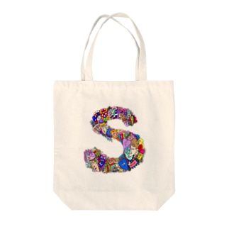For S Tote bags