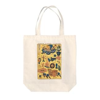 新板車つくし【浮世絵・おもちゃ絵】 Tote bags