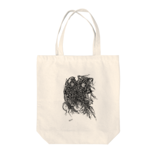 Ryuji HikosakaのDust Comes Out / 叩いて出た埃 Tote bags
