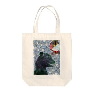 Dear Bear Tote bags