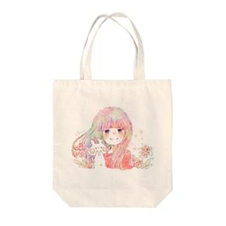 アマリリス Tote bags