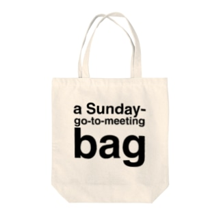 a Sunday-go-to-meeting bag Tote bags