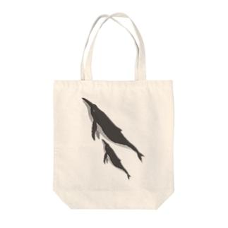 ザトウクジラ Tote bags