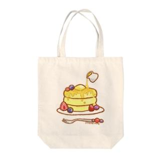 ぱんけーき Tote bags