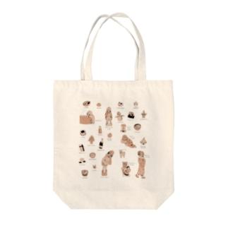 アラカルト冬 Tote bags