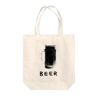 黒ビール Tote bags
