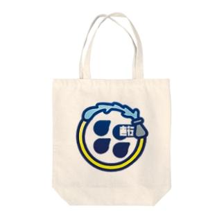 パ紋No.1232直行 Tote bags