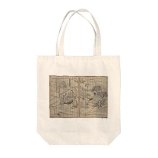 夢応の鯉魚L Tote bags