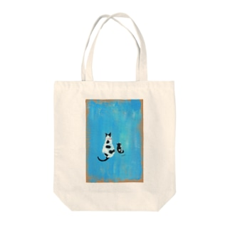 azucomacats Tote bags