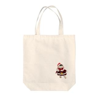 しげおクリスマス Tote bags