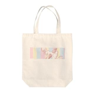 つんざかれガール Tote bags