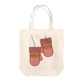 ミトンピンク Tote bags