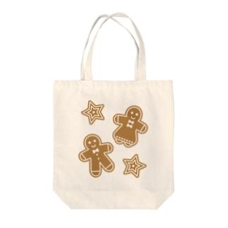 ジンジャーマンクッキー Tote bags