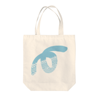 Loop GraffitiのゼンタングルLoop(スカイブルー) Tote bags