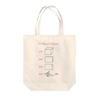 テレビジョンの歴史 02 Tote bags