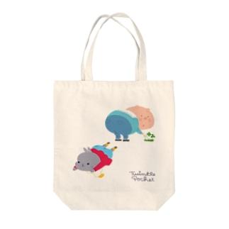 おしり ばいん*うさぎ&ぶた Tote bags