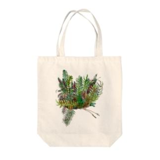 南国の植物 トートバッグ