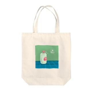 シャボン玉 Tote bags