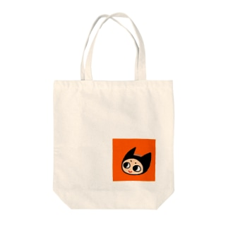 あくまのアイコンちゃん Tote bags
