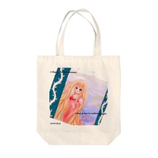 * Mermaid  * Tote bags