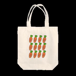 KIMAMALIFEのぼくらはにんじんトートバッグ