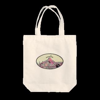 ohanaのmountain Tote bags