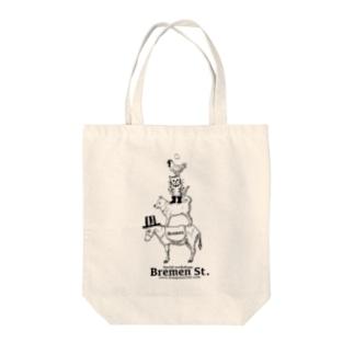 ブレーメンオールスター Tote bags