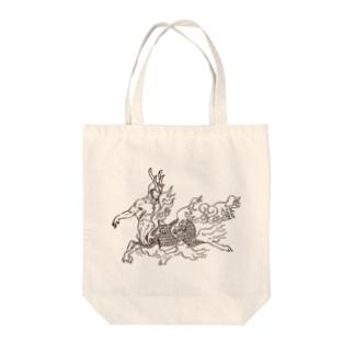 ケンタウロス:聳弧(単色) Tote bags