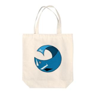シーバスくん Tote bags
