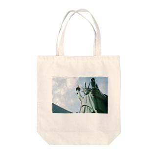 ニューヨーク的 Tote bags